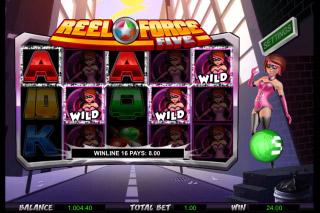 Reel Force 5 Mobile Slot Wilds