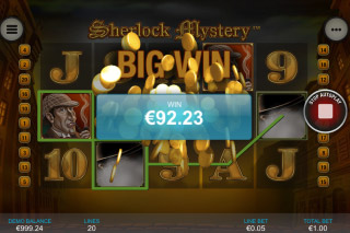 Sherlock Mystery Mobile Slot Big Win