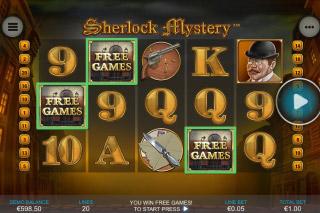 Sherlock Mystery Mobile Slot Scatters