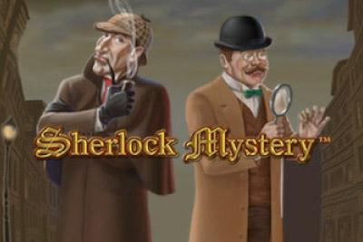 Sherlock Mystery Mobile Slot Logo