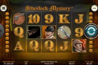Sherlock Mystery Mobile Slot Reels