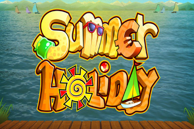 Summer Holiday Mobile Slot Logo