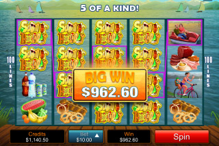 Summer Holiday Mobile Slot Big Win