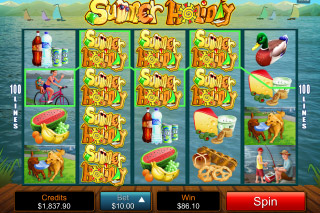 Summer Holiday Mobile Slot Reels