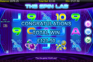 The Spin Lab Mobile Slot Big Win