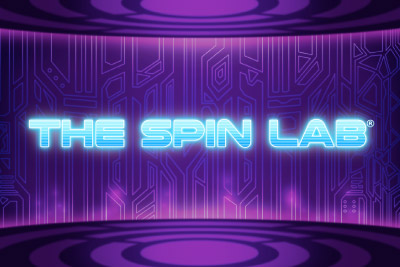The Spin Lab Mobile Slot Logo