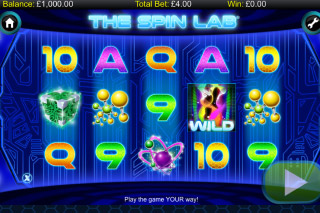 The Spin Lab Mobile Slot Reels