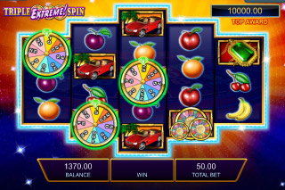 Wheel of Fortune Triple Extreme Spin Bonus Symbols