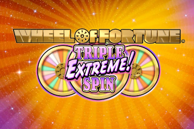 Wheel of Fortune Triple Extreme Spin Mobile Slot Logo
