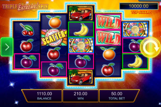 Wheel of Fortune Triple Extreme Spin Mobile Slot Reels