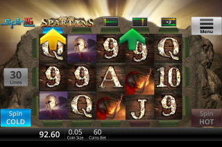 Age Of Spartans Mobile Slot Reels
