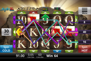 Age Of Spartans Mobile Slot Win