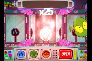 Alien Farm Invasion Mobile Slot Bonus