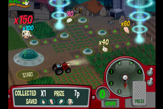 Alien Farm Invasion Mobile Tractor Bonus