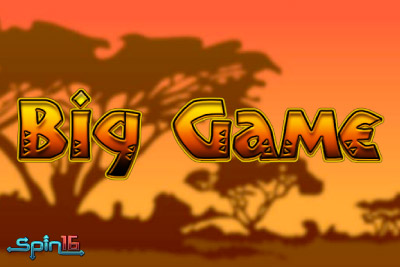 Big Game Mobile Slot Logo