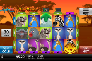 Big Game Mobile Slot Screenshot