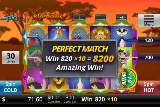 Big Game Mobile Slot Win