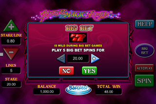 Black Magic Fruits Mobile Slot Big Bet