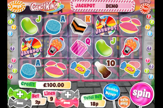 Candy King Mobile Slot Reels