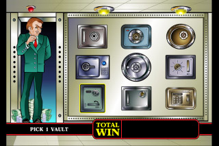 Cashville Mobile Slot Bonus Game