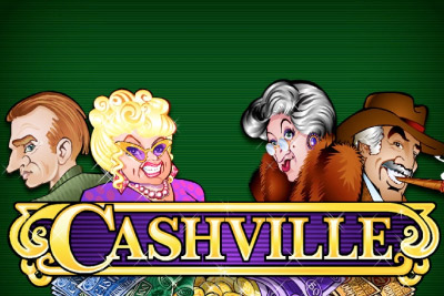 Cashville Mobile Slot Logo