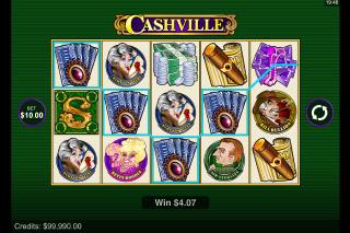 Cashville Mobile Slot Reels