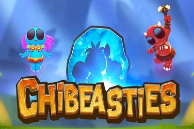 Chibeasties Mobile Slot Logo