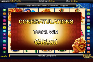 Double Happiness Mobile Slot Free Spins Win