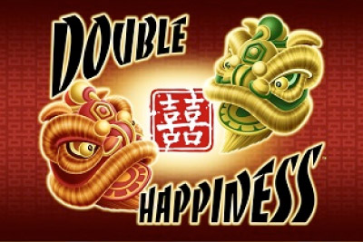 Double Happiness Mobile Slot Logo