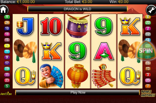 Double Happiness Mobile Slot Reels