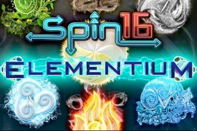 Elementium Mobile Slot Logo