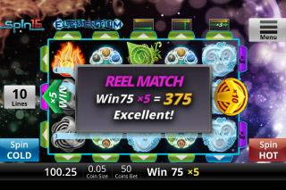 Elementium Mobile Slot Reel Match