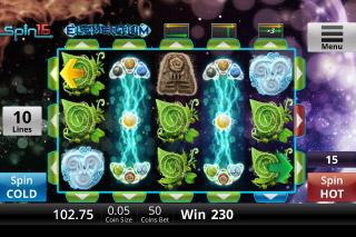 Elementium Mobile Slot Reels