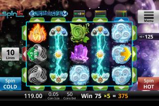 Elementium Mobile Slot Wilds