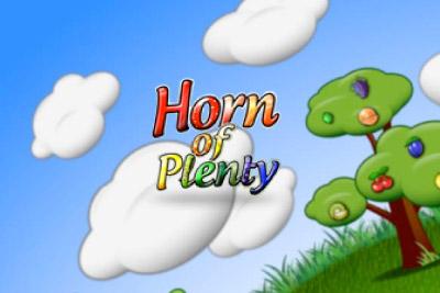 Horn Of Plenty Mobile Slot Logo