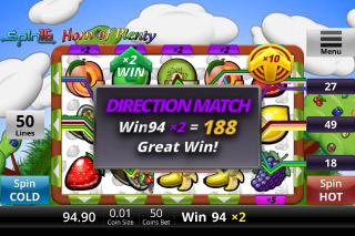 Horn Of Plenty Mobile Slot Match