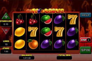 Hot Frootastic Slot Reels