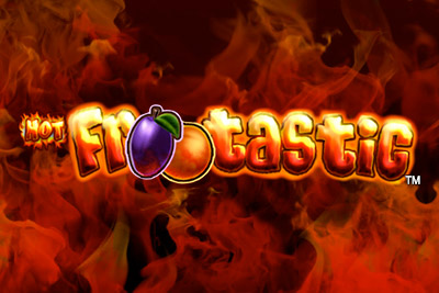 Hot Frootastic Slot Logo
