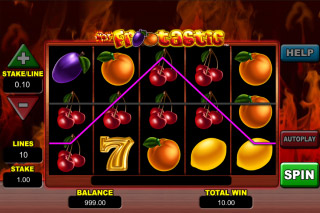 Hot Frootastic Slot Win
