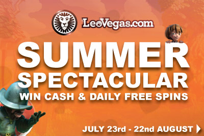Get Your Daily Free Spins In This Summer Slots Spectacular