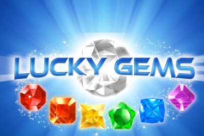 Lucky Gems Mobile Slot Logo
