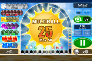 Lucky Gems Mobile Slot Multiball