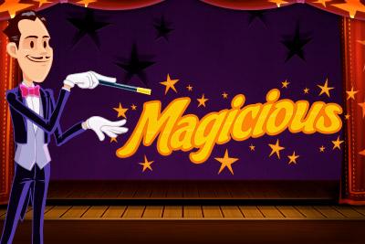 Magicious Mobile Slot Logo