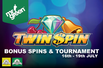 Get Your Twin Spin Free Spins & Enter The Tournament