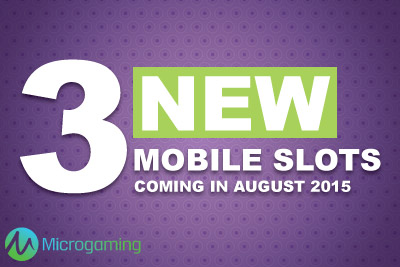 New Microgaming Games Coming In August 2015
