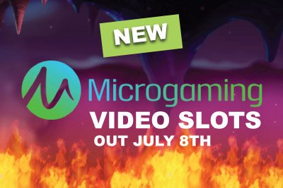 New Microgaming Video Slots Out in July 2015