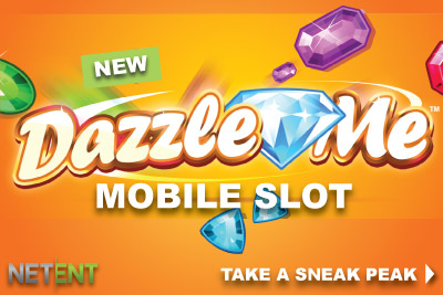 Will you be dazzled by the New NetEntertainment Slot