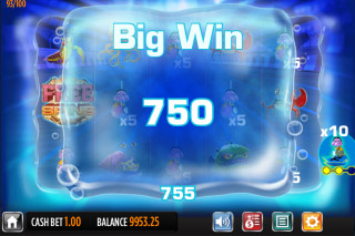 Reef Run Mobile Slot Big Win