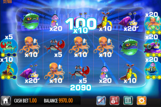 Reef Run Mobile Slot Bonus