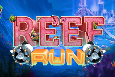 Reef Run Mobile Slot Logo